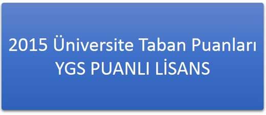 YGS 1 Puanlı Önlisans Programları (2 Yıllık Meslek Yüksek Okulları)