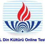 Din Kültürü ve Ahlak Bilgisi 6 Online Test 4