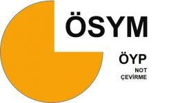 ÖYP Not Çevirme: 4'lük sistemden 100'e çevirme