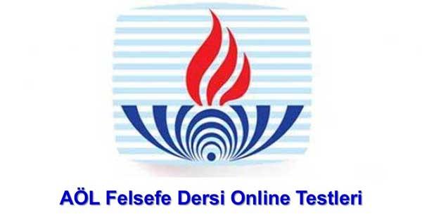Açık Lise Felsefe Online Testleri