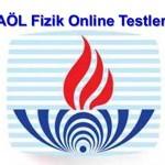 Açık Lise Fizik 4 Online Test 5