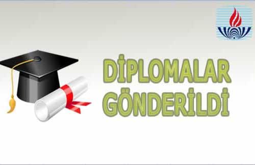 2016/1 Dönemine Ait Diplomalar Halk Eğitim Merkezlerine Gönderildi