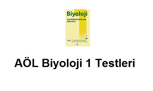 Açık Lise Biyoloji 1 Test 7