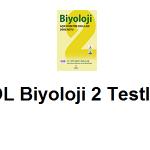 Açık Lise Biyoloji 2 Test 8