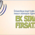 Açık Lise Ek Sınav 2017 başvuru ve sınav tarihleri açıklandı