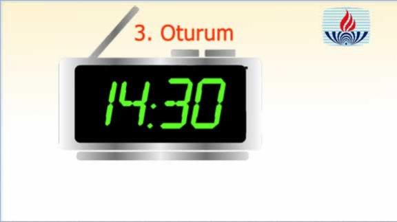 17-18 Mart 2018 tarihli Açık Lise 2. Dönem Sınavı 3. Oturum Saati 14:30´dur.