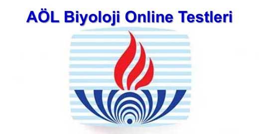 AÖL Online Biyoloji Testi Çöz