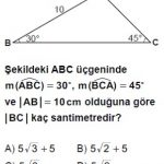 Açık Lise Matematik 2 Online Testleri Test 2