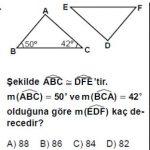 Açık Lise Matematik 2 Online Testleri Test 3