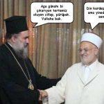 Papazı bir soru ile mat eden imam