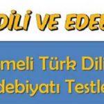 Türk Dili ve Edebiyatı 5 Konu Başlıkları