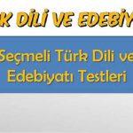 Açık Lise Türk Dili ve Edebiyatı 8 Ünite Testi 4